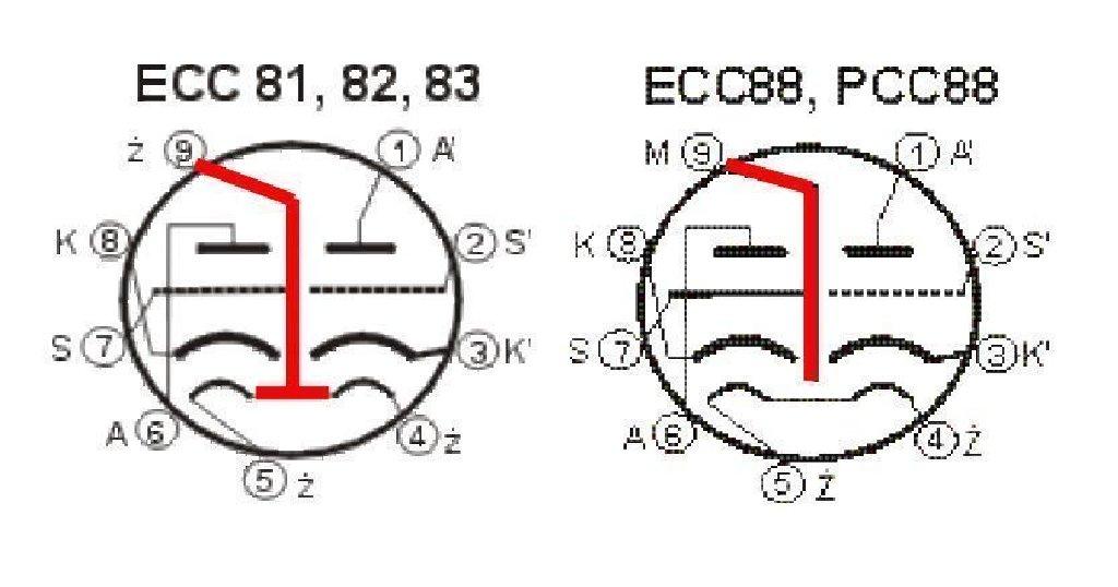 sprzedam diy universal pcb for tube preamp srpp ccda ecc88 e88cc ecc81 82 83 piaseczno